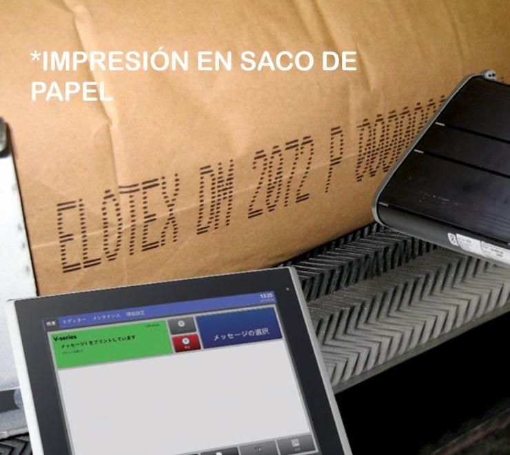 Impresión en saco de papel